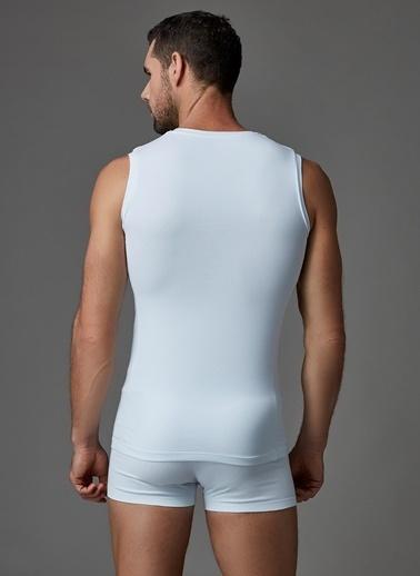 Dagi Compact Kolsuz O Yaka T-Shirt Beyaz